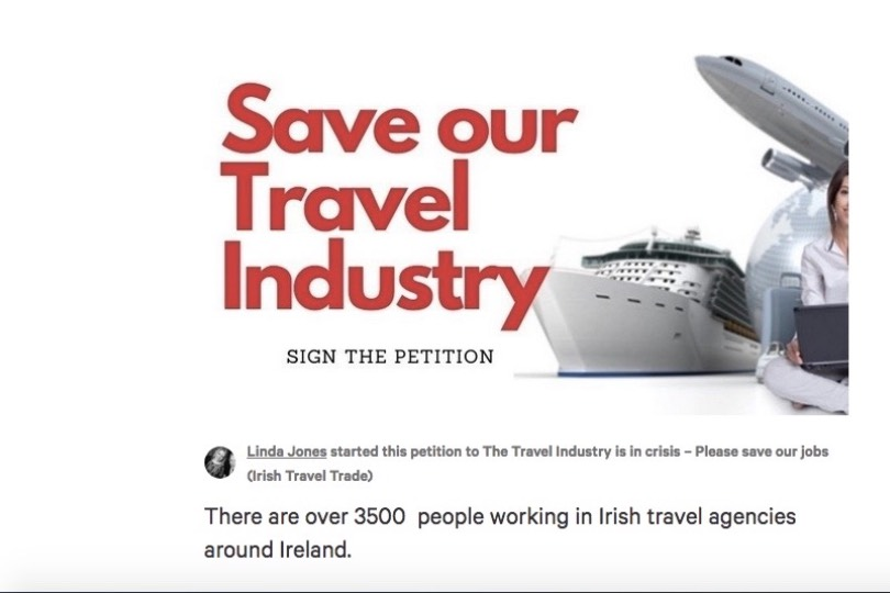 Irish agents launch campaign to #SaveTravel in Ireland