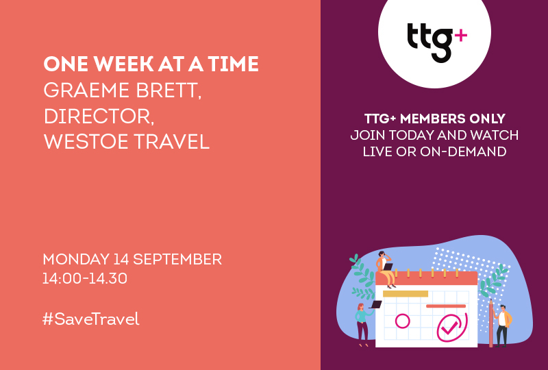 Westoe Travel director Graeme Brett will be the first guest in the new series of One Week At A Time