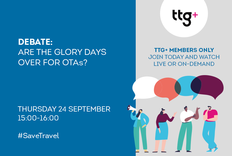 Are the glory days over for OTAs? Join the latest TTG Debate