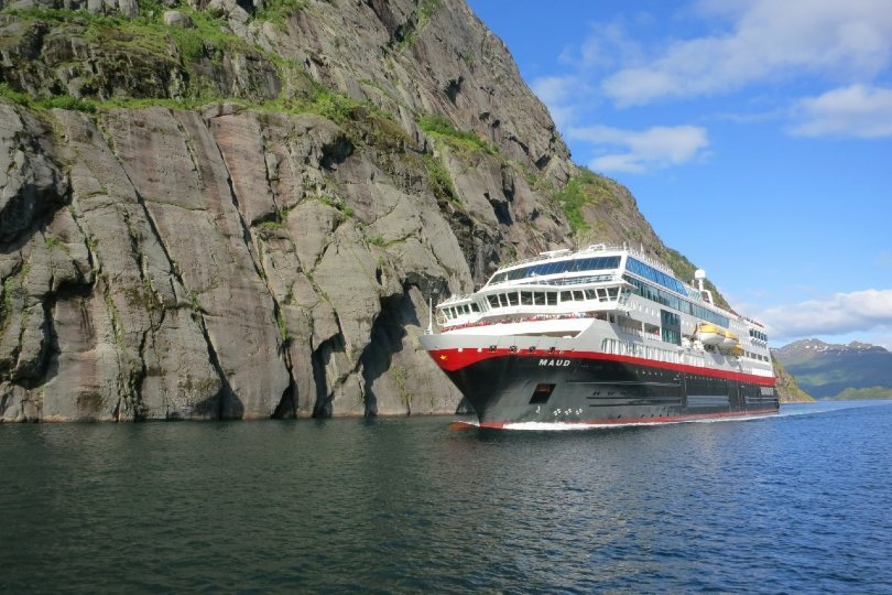 Hurtigruten's MS Maud
