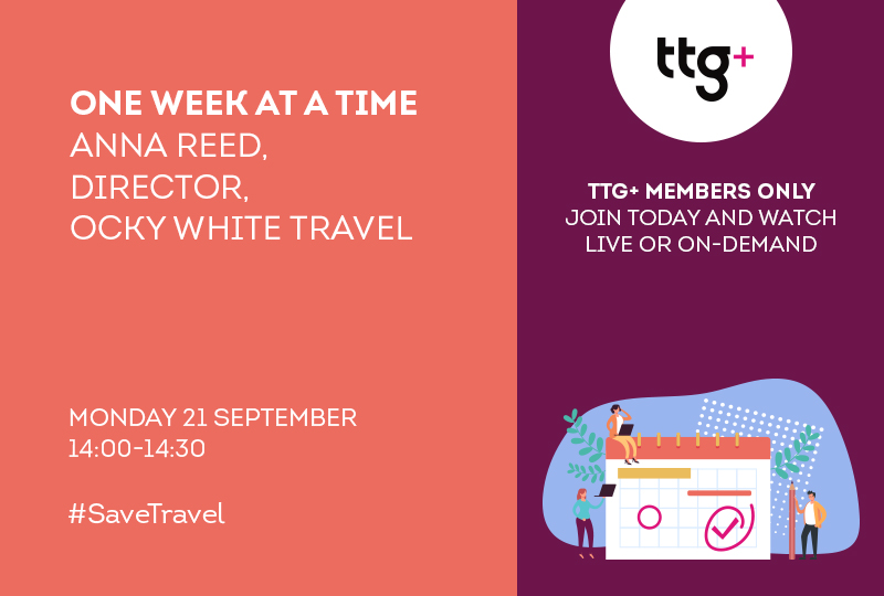 Anna Reed of Ocky White Travel will be the second guest in the latest series of One Week At A Time
