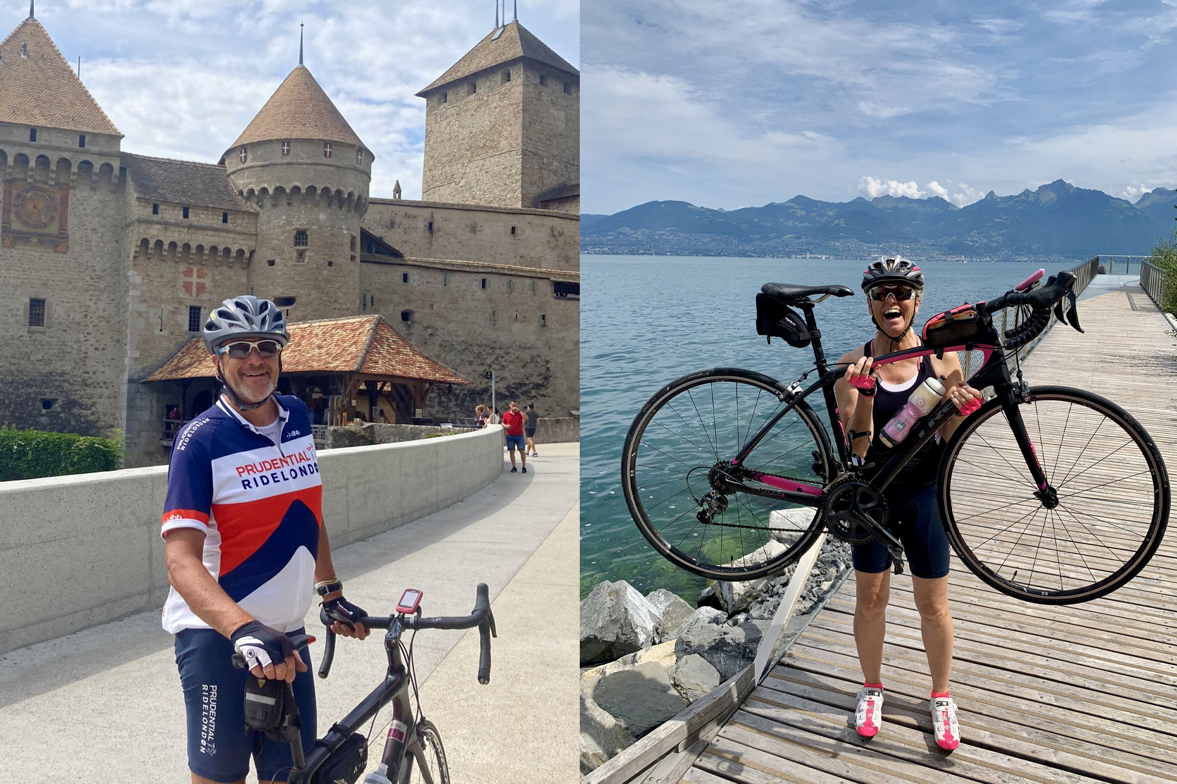 Meet the agents who cycled around Lake Geneva for charity