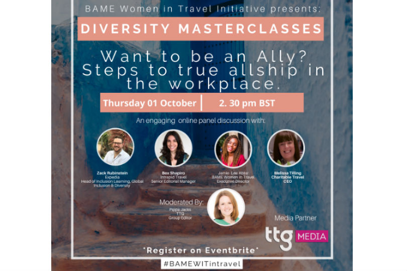 How can you become an ally in the workplace?