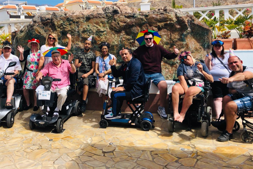 A Limitless Travel group on a pre-Covid trip