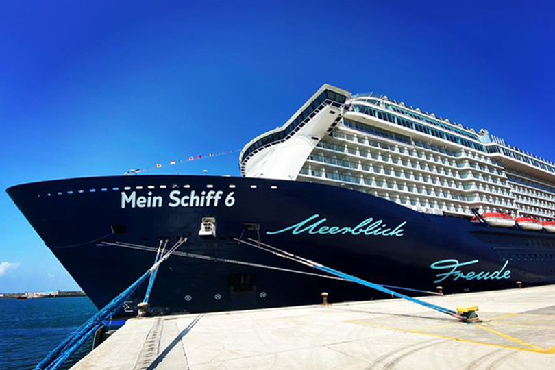 Mein Schiff 6 is continuing on its Greek itinerary