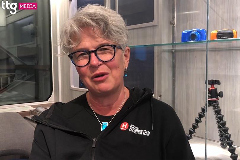 Eco-conscious features and educational classes onboard Hurtigruten's Fridtjof Nansen
