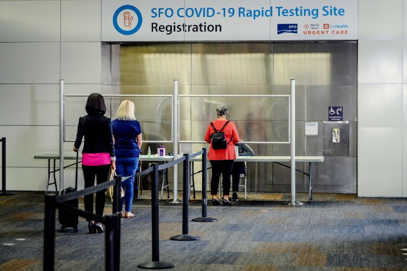 US arrivals will have to show evidence of testing negative for Covid before boarding