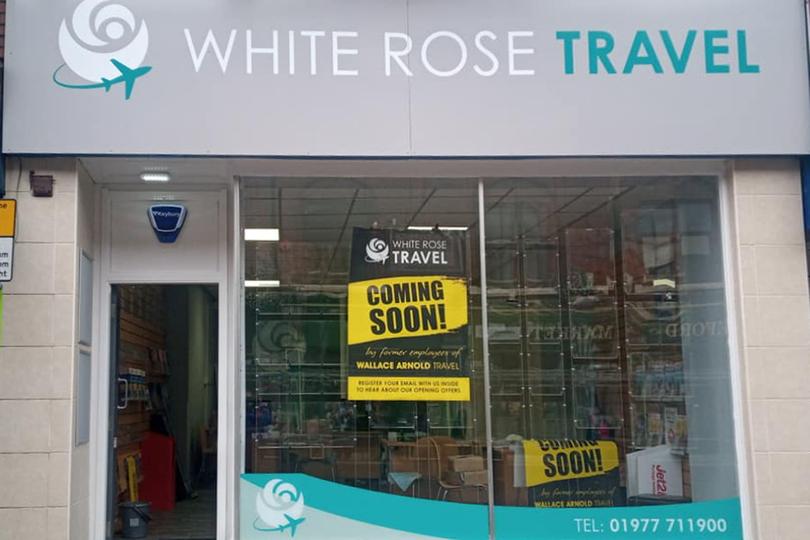 White Rose Travel opened its doors on Monday