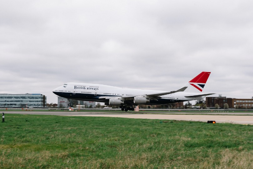 This BA 747, in retro paint job, will be preserved and open to visitors