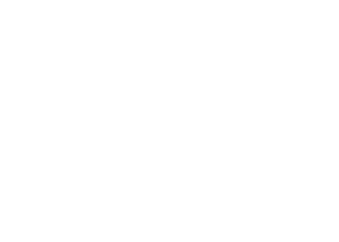 Holiday to help out logo, white outline on transparent png
