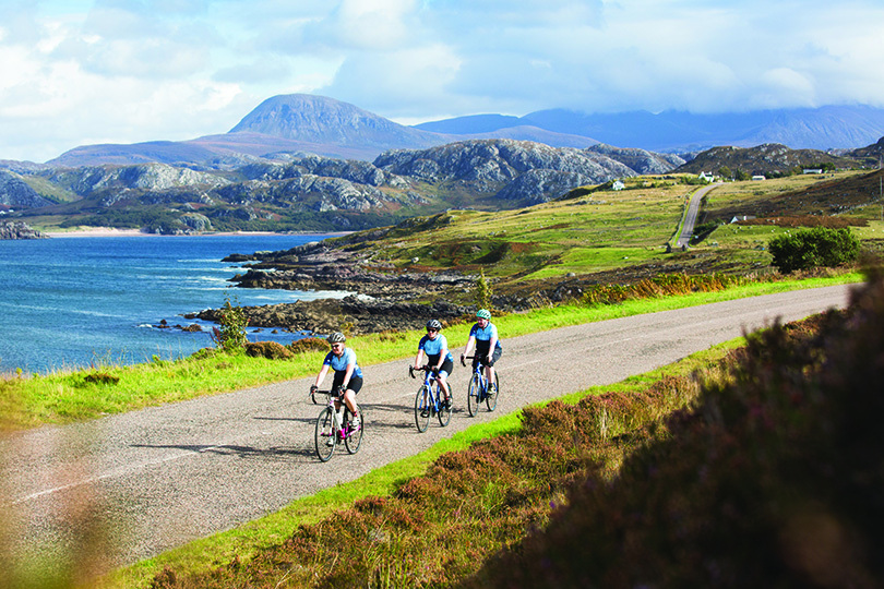 Wilderness Scotland offers cycling packages in its programme