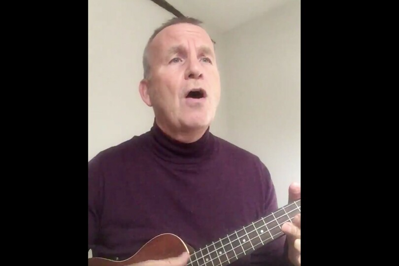 """Ex-Superbreak sales chief urges prime minister """"don't pass us by"""" in George Formby cover"""