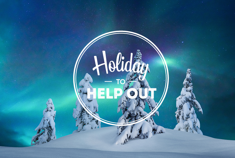 Holiday To Help Out week will take place between 2-8 November