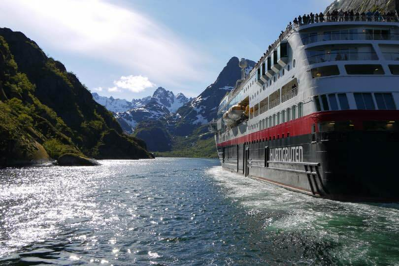 Hurtigruten's MS Maud will be sailing expedition itineraries from Dover in 2021/22