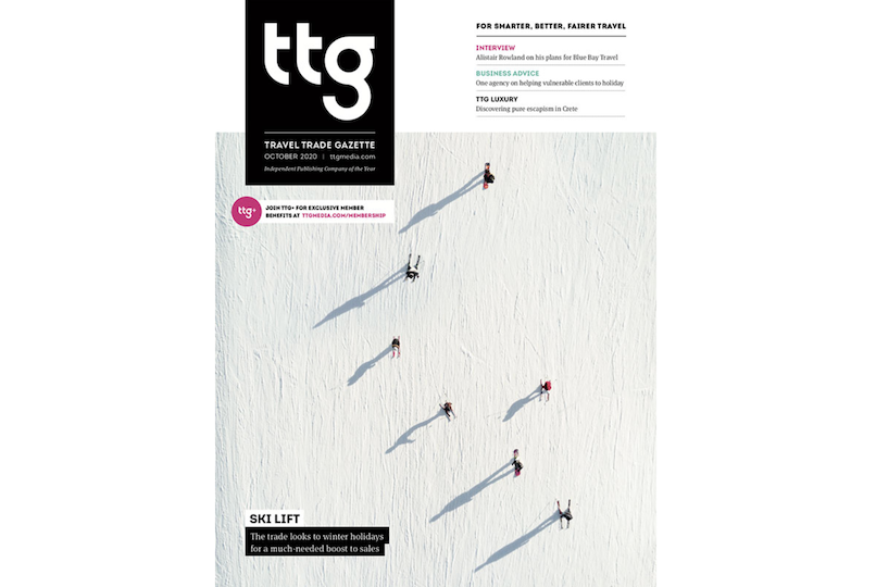 October edition front cover
