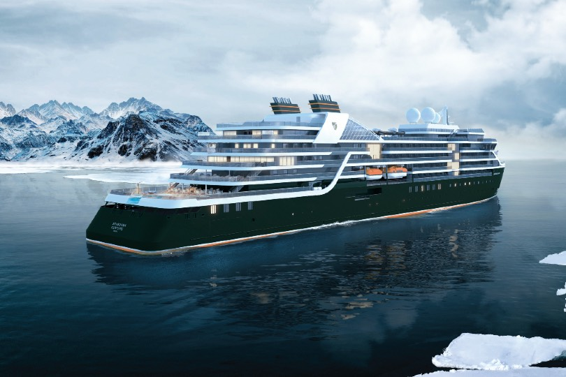 Seabourn Venture will launch in December 2021