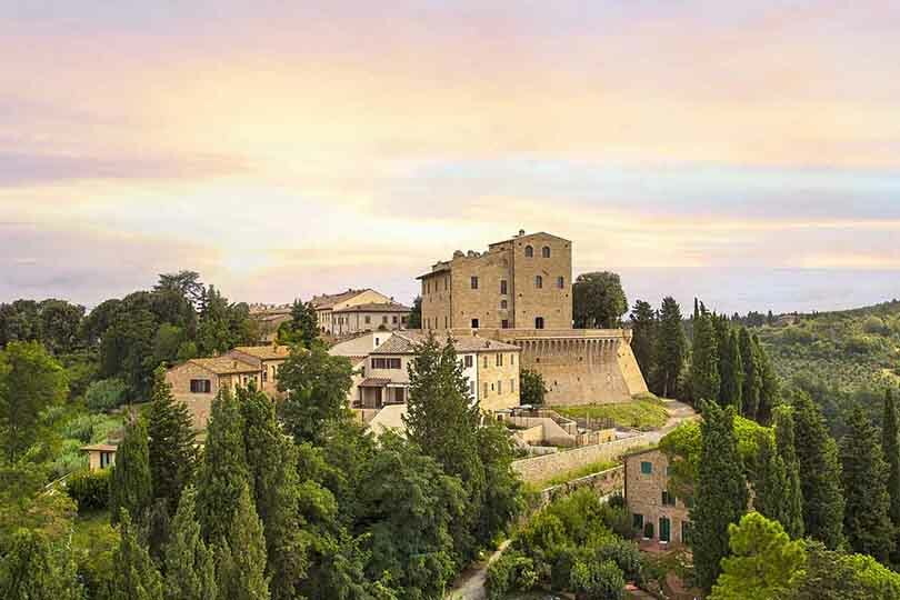The Tuscan ghost village that became a Tui luxury resort