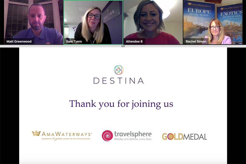 TTG Travel Heroes host client evening with Destina Travel