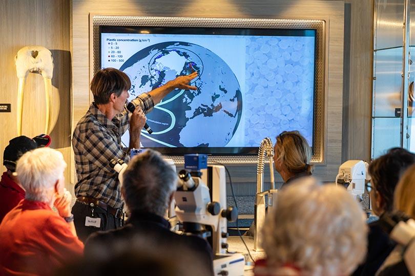 Hurtigruten's Science Centre