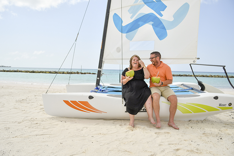What's it like to visit Sandals Royal Barbados right now?