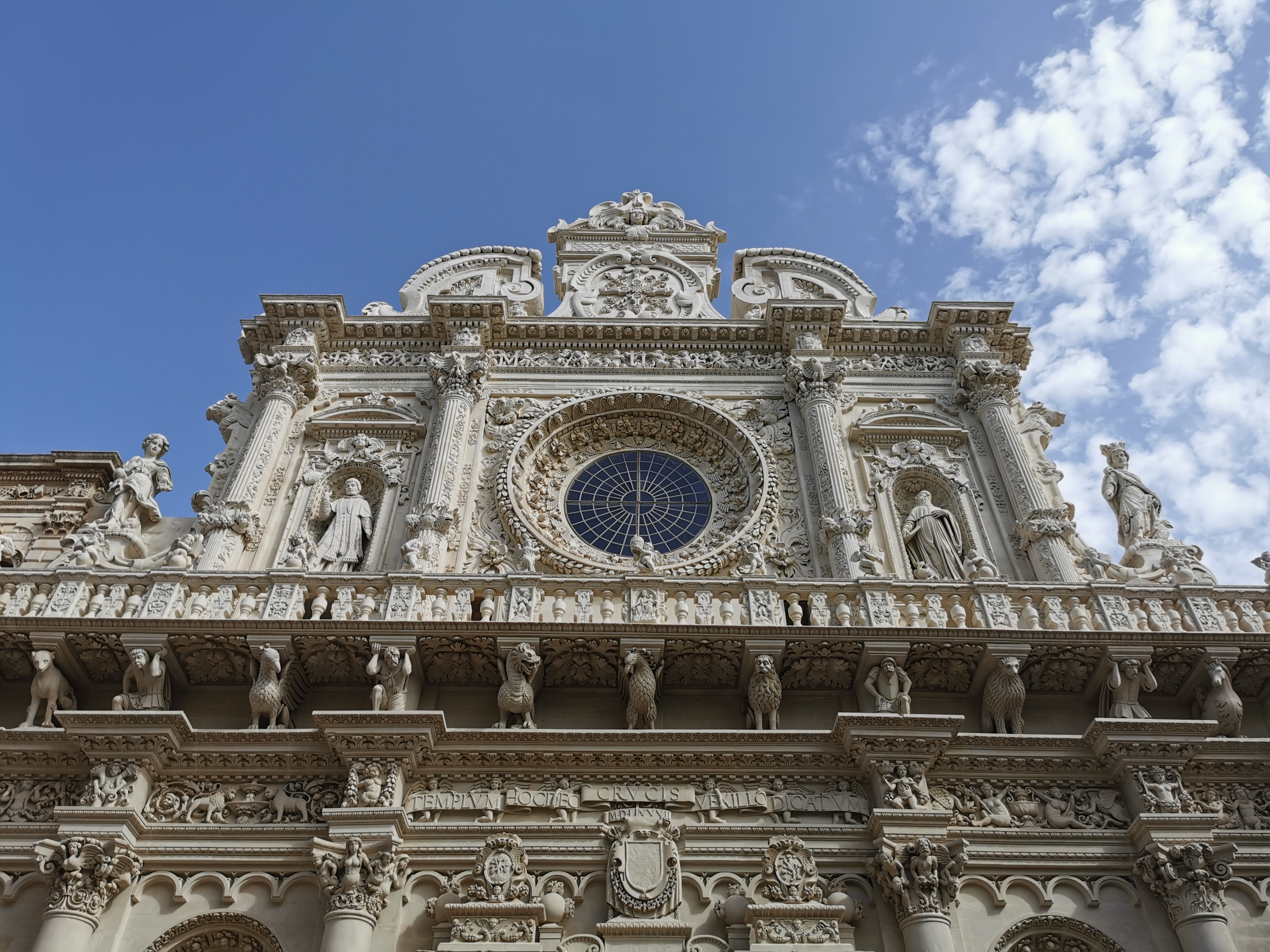 The Church of the Holy Cross in Lecce is a fine example of Baroque architecture