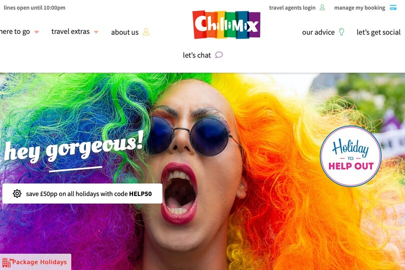 Chillimix will initially offer beach and city holidays across 28 destinations, bookable through its website