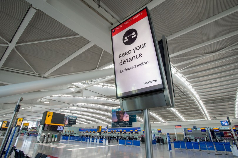 Heathrow boss John Holland-Kaye says a lack of government support now will make it even harder for the sector to resume