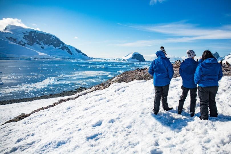 Intrepid operates in remote areas including Antarctica