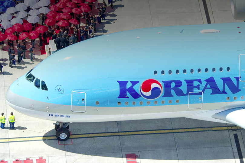 Korean Air will merge with its main domestic rival