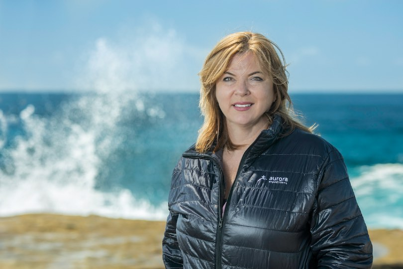Monique Ponfoort has taken over as chief executive of Aurora Expeditions