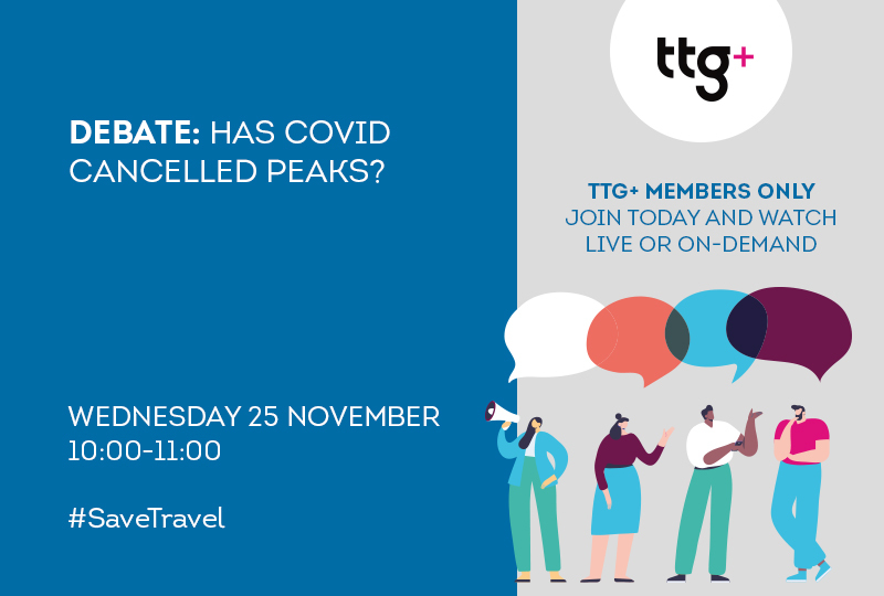 TTG Debate: Has Covid cancelled peaks?