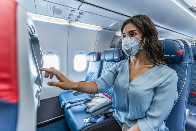 Delta extends middle seat block into 2021