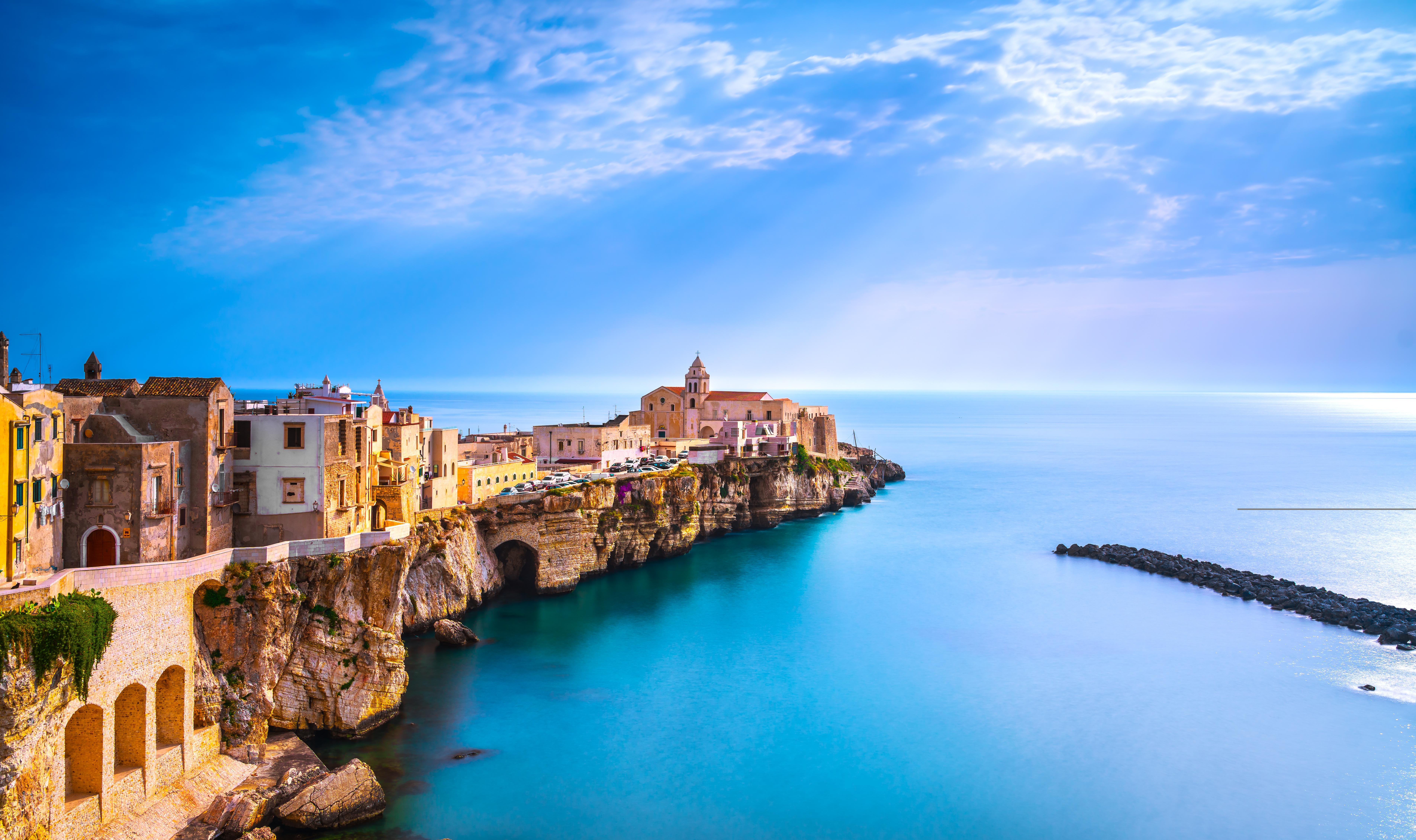 Vieste, one of the destinations in Riviera Travel's Puglia, Lecce & Vieste – Undiscovered Italy itinerary