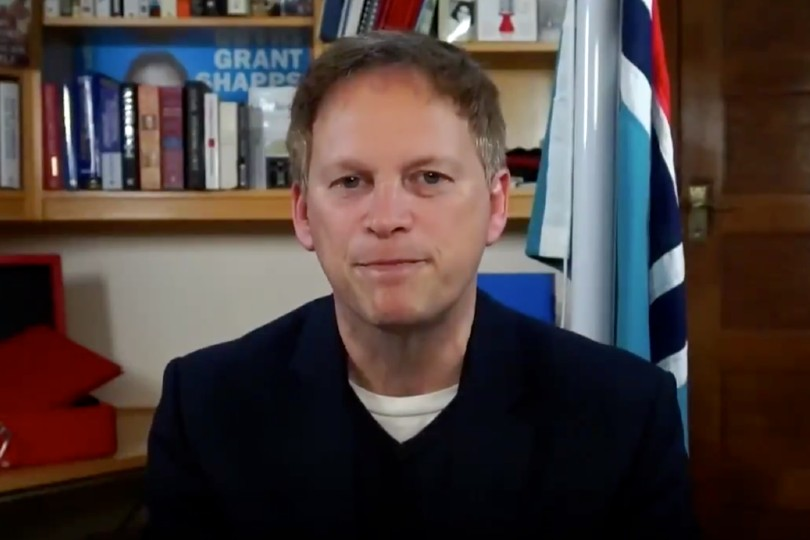"Grant Shapps said the green watch list would ""flag up"" destinations in danger of being moved from green to amber status"