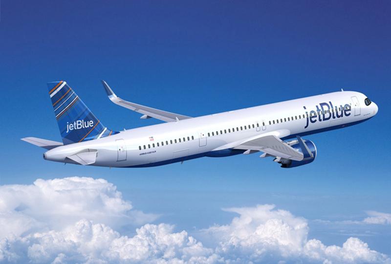 JetBlue touches down in London ahead of transatlantic launch