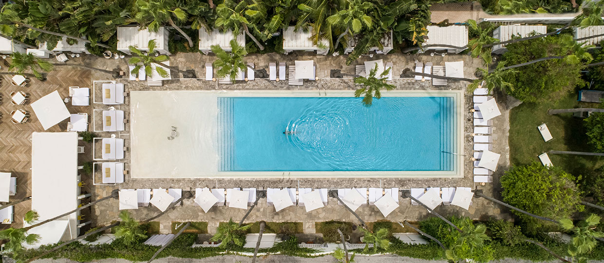 The Delano in South Beach is one of many hotels in the new division