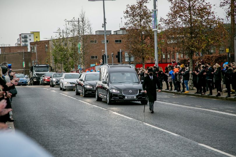 Hundreds turned out on Wednesday to remember John Hays (Credit: North News)