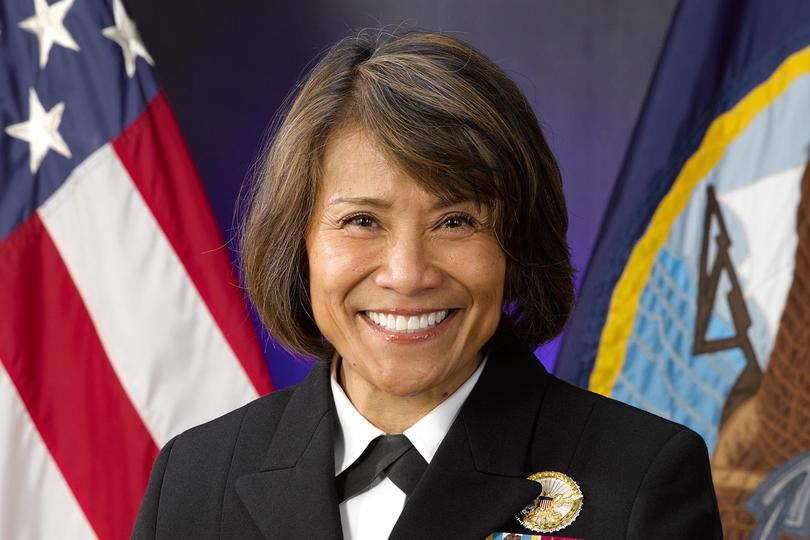Vice admiral Raquel Bono