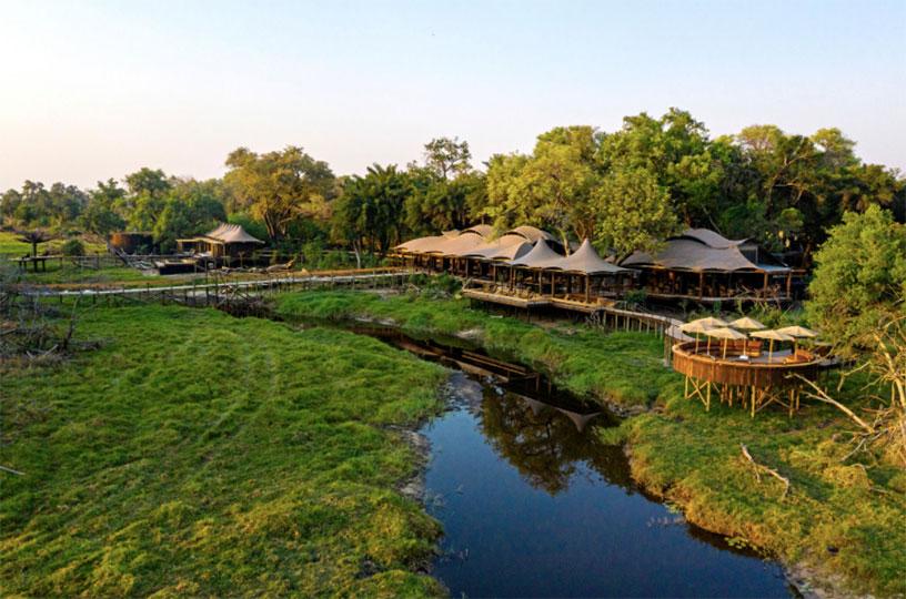 Xigera is in Botswana's Moremi reserve
