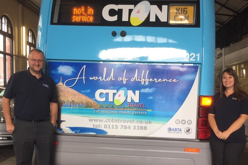 CT4N works to tackle loneliness and social isolation in Nottingham by providing bus services to those in need