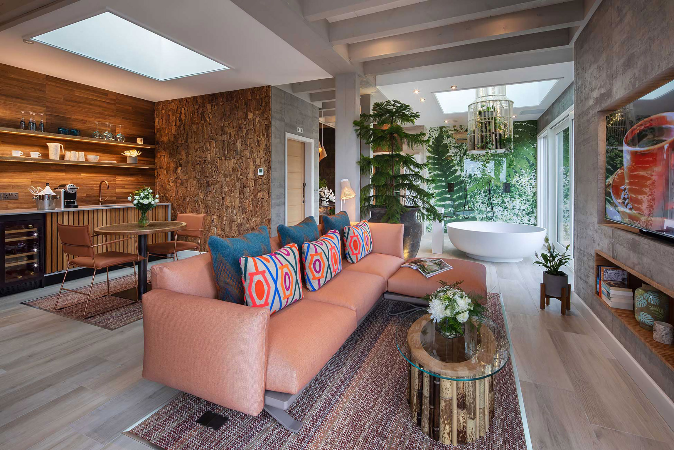The Scandi-style chic of one of Gilpin's Spa Suites