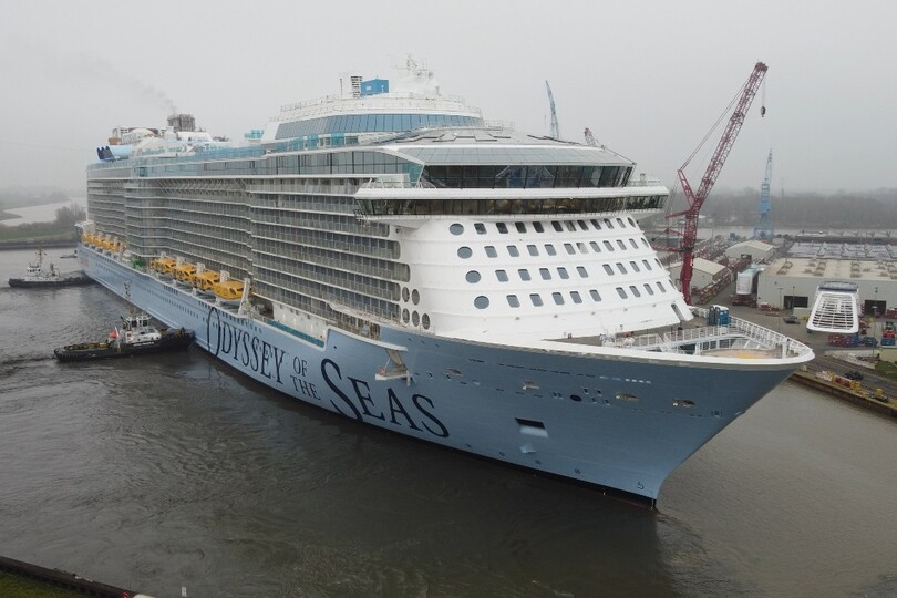 Royal Caribbean takes delivery of Odyssey of the Seas