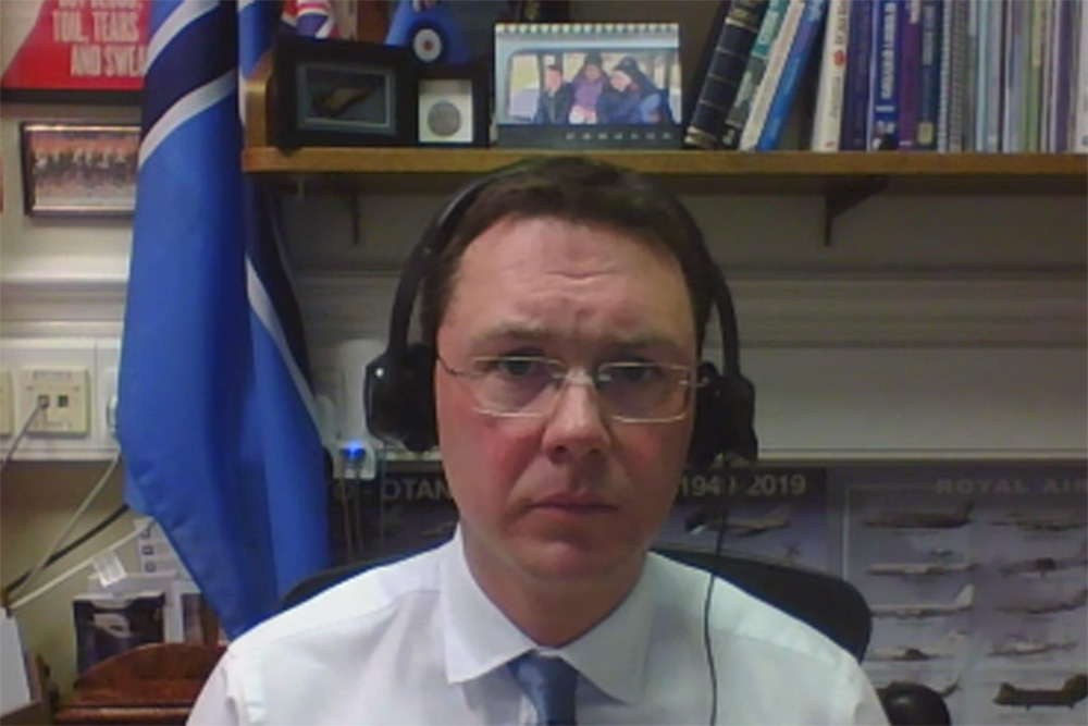 Aviation and maritime minister Robert Courts