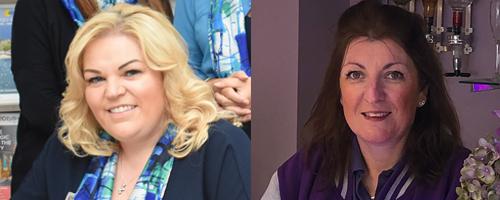 Linda Hill Miller, LAH Travel – Customer Service Champion 2020 and Nicola Palmer, Perfect Getaways – Community Hero 2020