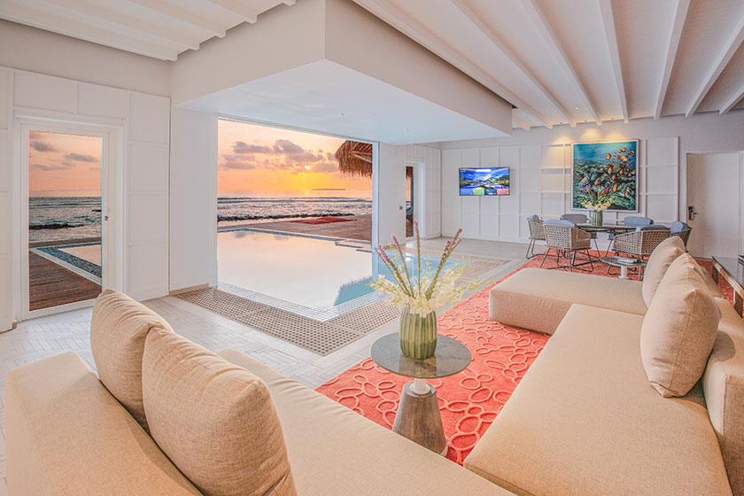 Villa Huni at the Emerald resort in the Maldives