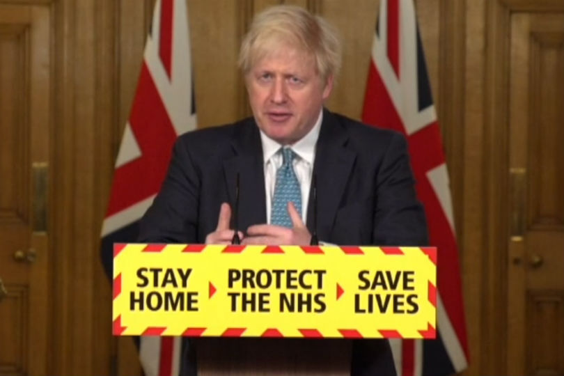 Boris confirms travel restrictions for arrivals into the UK