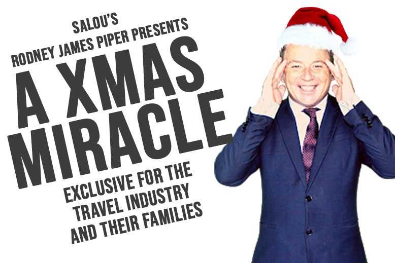 """House of Illusion's Rodney James Piper hopes to bring """"magic and festive fun"""" to those in the trade"""