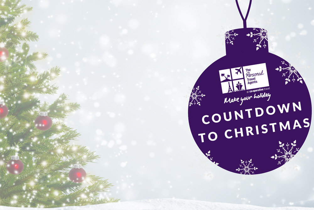 Countdown To Christmas is under way at Co-operative Travel