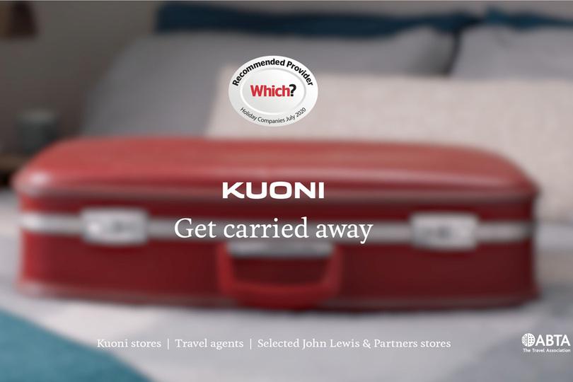Kuoni's new January campaign