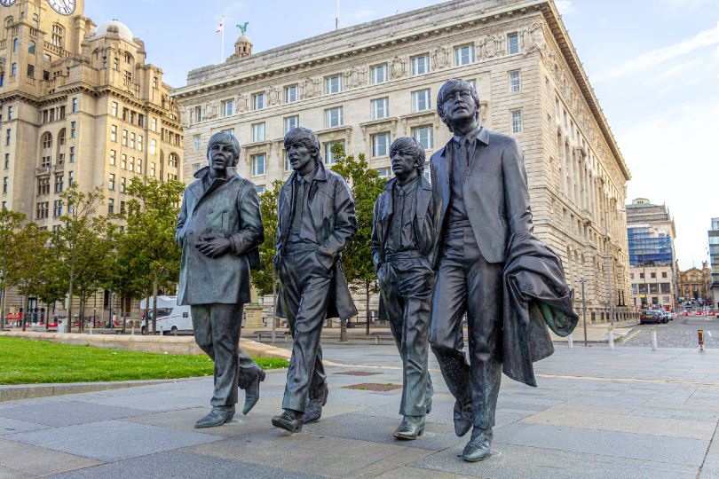 One of Newmarket's new UK tours focuses on The Beatles and their hometown of Liverpool (Credit: Neil Martin / Unsplash)